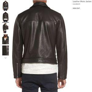 C2 by Calibrate Jackets & Coats - Leather Moto jacket